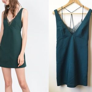 57f4df6234a0d Women Green Zara Lace Dress on Poshmark